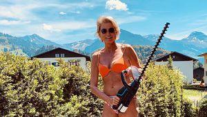 Stephanie Gräfin von Pfuel (59) begeistert mit Bikinifoto