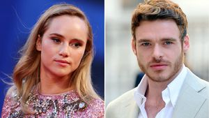Suki Waterhouse und Richard Madden