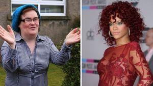 Rihanna und Susan Boyle