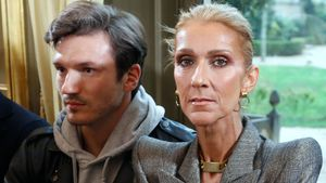 Rührend: Celine Dion gedenkt ihres verstorbenen Mannes