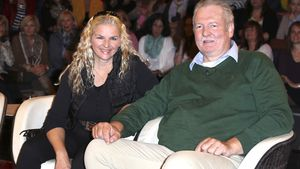 Tamme Hanken mit Gattin Carmen Hanken zu Gast in der Talkshow von Markus Lanz