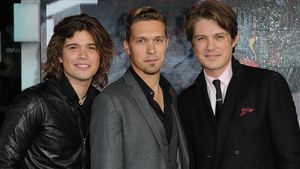Taylor Hanson, Isaac Hanson and Zac Hanson bei einem Event in London