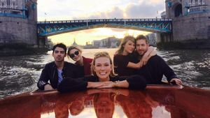 Gigi Hadid, Calvin Harris, Taylor Swift, Joe Jonas und Karlie Kloss