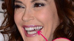 Lippenstift-Panne bei Teri Hatcher!
