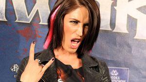 Tessa Bergmeier bei den Metal Hammer Awards 2013