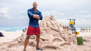 "Dwayne ""The Rock"" Johnson in ""Baywatch"""
