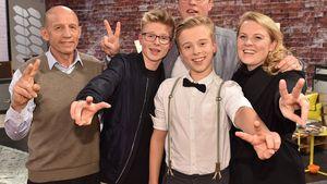 """""""The Voice Kids""""-Kandidat Iggi mit seiner Familie"""