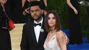 The Weeknd und Selena Gomez bei der Met Gala 2017