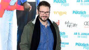 """Thomas Drechsel bei der """"Plötzlich Papa""""-Premiere in Berlin"""