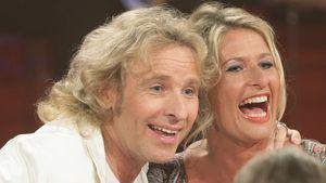 Thomas Gottschalk und Raphaela Ackermann