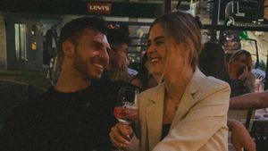 Verliebte Blicke: Tim Stammberger und Laura nur Freunde?