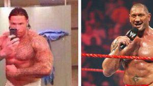 Massig! Tim Wiese sieht aus wie Wrestler Batista