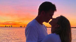 So süß! Gisele Bündchen postet Knutsch-Pic mit ihrem Tom