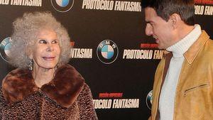 """Herzogin von Alba """"verzaubert"""" Tom Cruise"""