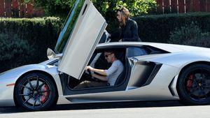 Tom Felton: Rasante Spritztour im Lamborghini
