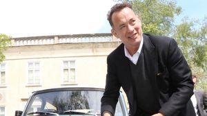 Tom Hanks mit einem Trabi