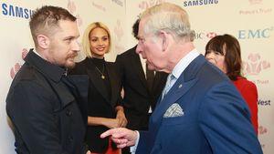 Prinz Charles und Tom Hardy