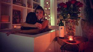 Heidi Klum genießt mit ihrem Tom ein romantisches Bad