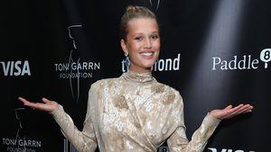 Verdächtige Schnappschüsse: Toni Garrn soll geheiratet haben