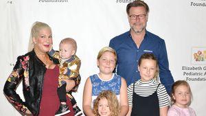Nervenzusammenbruch: Tori Spelling mit 5 Kids überfordert?