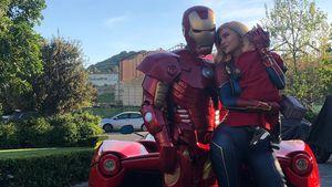 """Happy B-Day, Ehemann"": Kylie, Travis & Stormi als Avengers"