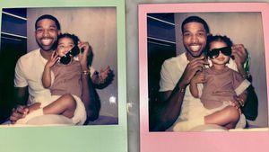 Khloe Kardashians Ex Tristan posiert mit Töchterchen True