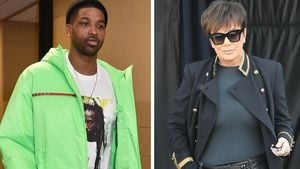 Tristan Thompson wollte bei Kris Jenner die Wogen glätten
