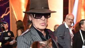 Udo Lindenberg bei der Aftershow Party des PRG Live Entertainment Award (LEA Award)