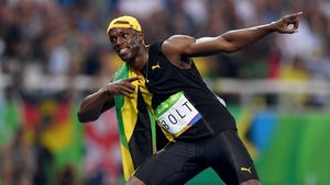 Bolt-Sieg sorgt für Chaos am New Yorker Flughafen