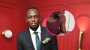 Papa-Baby-Gespann: Usain Bolt plappert mit seiner Tochter!