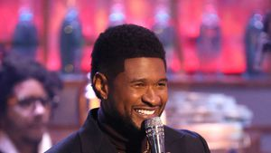 Vorfreude auf viertes Kind: Usher liebt seine Vaterrolle