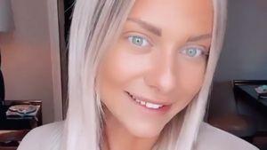 Neuer Look! Valentina Pahde trägt jetzt platinblondes Haar