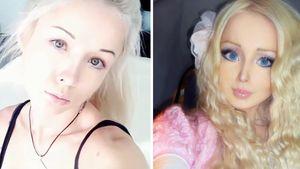 Ungeschminkt: Puppenfrau Valeria kaum wiederzuerkennen