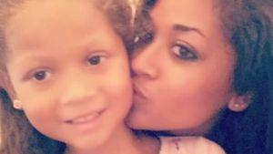 Valerie Fairman und ihre Tochter Naveah