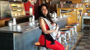 """Zurück bei """"Riverdale"""": Vanessa Morgan mit Baby am Set"""