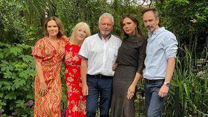 Vic Beckham teilt seltenes Bild mit Eltern und Geschwistern