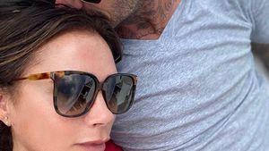Süß: Victoria Beckham postet Kuschel-Foto mit ihrem David
