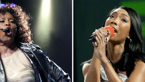 Whitney Houston und Brandy