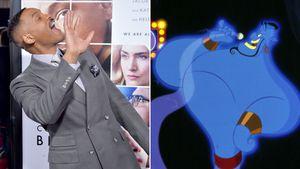 """Will Smith und Genie aus """"Aladdin"""""""
