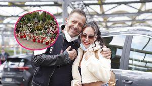 Alessia postet Foto: Willi Herrens Grab ist ein Blumenmeer