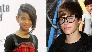 Justin Bieber und Willow Smith