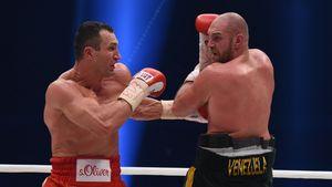Drogen im Wasser? Tyson Fury beschuldigt Wladimir Klitschko