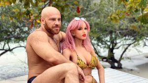 Russischer Bodybuilder traurig: Sexpuppen-Ehefrau ist kaputt