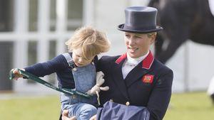 Zara Phillips mit ihrer Tochter Mia