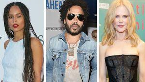 Lenny Kravitz freut sich, dass Tochter Zoe mit Ex Film dreht