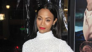 "Zoe Saldana bei der ""Live by Night""-Premiere in Hollywood im Januar 2017"