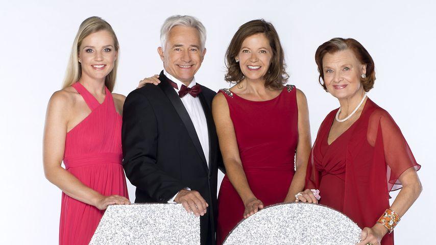 Mitglieder der Familie Jansen: Jule, Thomas, Petra und Johanna (v.l.)