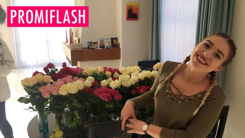 Was für eine Geste: 300 Rosen für YouTube-Bibis Mutter!