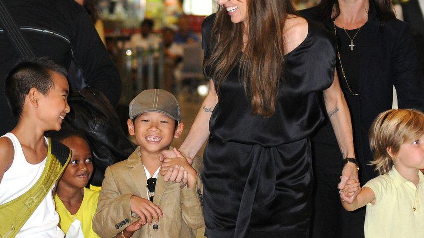Besorgte Angelina Jolie: Wird sie Pax verlieren?