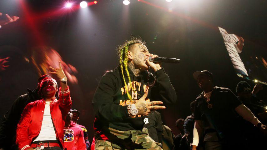 Rapper 6ix9ine im Oktober 2018 in New Jersey
